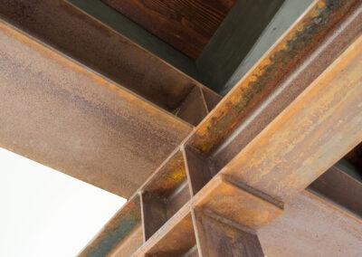 Beam + ceiling detail