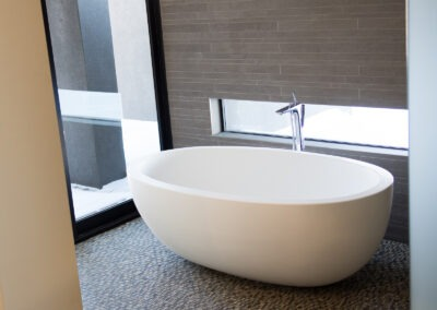 Master bath tub + tile detail
